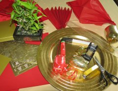 Materials for Making square paper Lantern