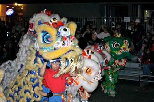 CNY Grand Dragon Parade in San Francisco: Lion Dancers