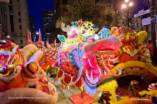 CNY Grand Dragon Parade in San Francisco