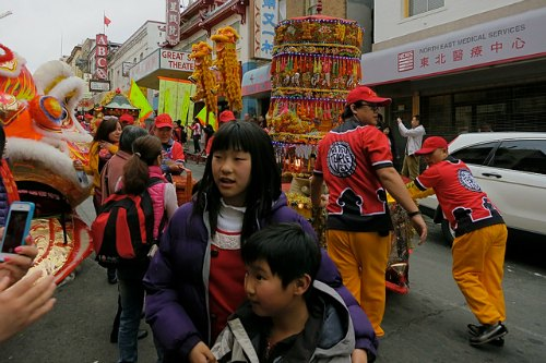 CNY Community Street Fair in San Francisco