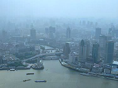 Views from the Oriental Pearl TV Tower