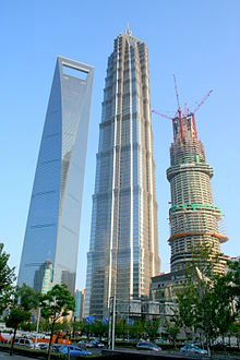 Shanghai Tower to be Completed in 2014