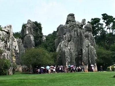Shilin Stone Forest Formations