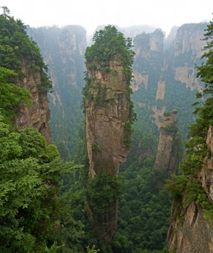Zhangjiajie Stone Forest China - Avatar Mountains