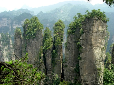 Stone Forest China Zhangjiajie Five Finger Park