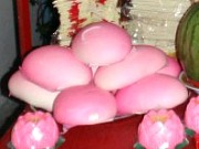 Sweet Rice Cake for Chinese New Year