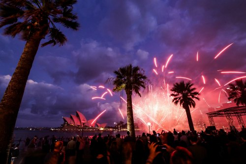 Sydney Chinese New Year Fireworks