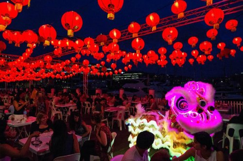 Chinese New Year Lunar Markets at Pyrmont Bay Park