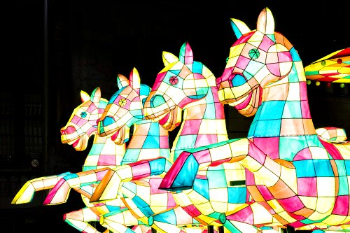 Lunar New Year Lanterns: Zodiac Animal Horse