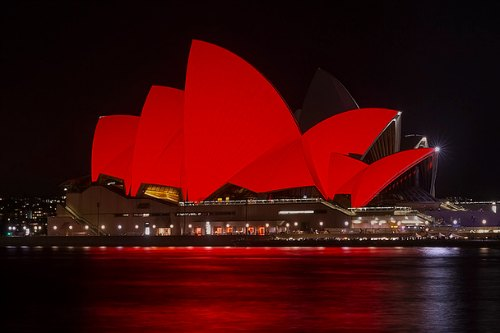 Chinese New Year in Sydney: Opera House Decked in Red