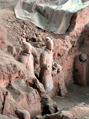 Ongoing Excavation at the Terracotta Army Pits