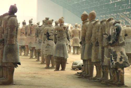 Xian Terracotta Army Reconstruction Work