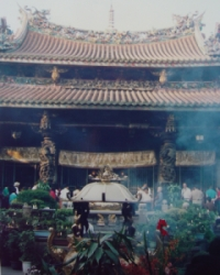 Qing Ming Festival at Temple