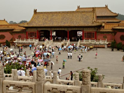 Tours at the Forbidden City, Beijing