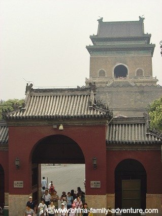 Beijing Hutongs, the Bell Tower