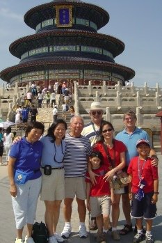 China Family Adventure at the Temple of Heaven