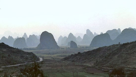 Guilin Karst Mountains