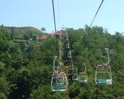 Chair Lift at Great Wall of China Mutianyu Section