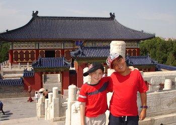 China con chicos