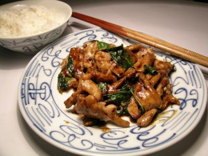 Chinese cooking: Fan and Tsai elements