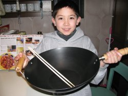 Chinese Cooking: Wok