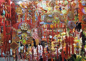 Chinese Decorations during Chinese New Year