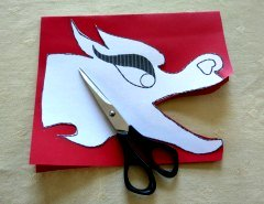 Making Chinese Dragon Crafts Step 2
