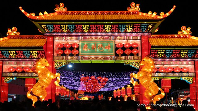 Lantern Festival in Singapore - Year of the Horse Lantern Displays