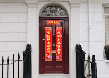 chinese new year greeting banner