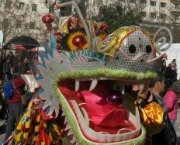 Dragon Parade in Madrid