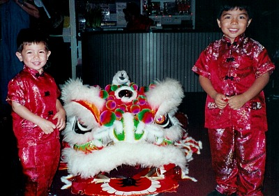 c81bfdedb chinese new year kids lion dance