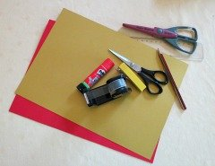 Materials for Making Chinese New Year Lantern