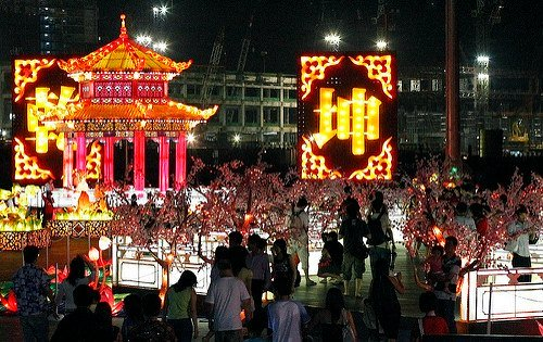 Chinese New Year Decorations in Singapore
