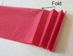 Making Easy  Chinese Paper Hanging Lantern Step 1