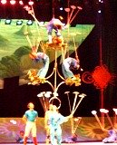Chinese Acrobats in Beijing