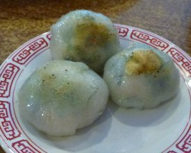 Dim Sum Types: Pan Fried Chive Dumplings
