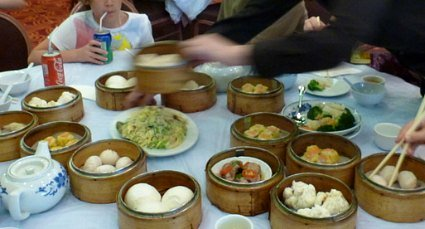 Different kinds of dim sum
