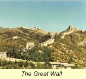 First Trip to China, Great Wall