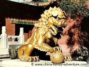 Forbidden City Chinese Lion