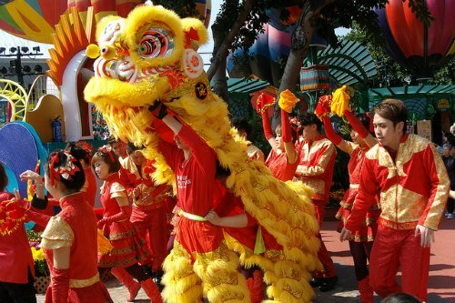 Chinese New Year in Hong Kong: Exciting Lion Dances