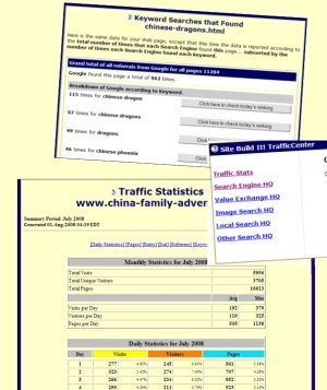 how to make a website traffic