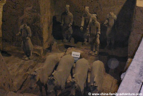 Xian Terracotta Army Charioteers and Horses