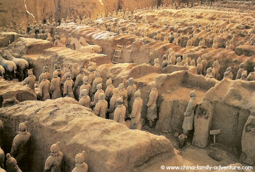 Xian Terracotta Army Pit One