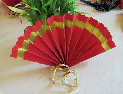Making   Chinese Paper Fan Step 7