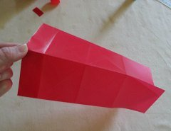 Making Square or Box Shaped Paper Lanterns Step 10
