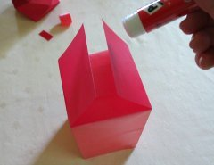 Making Square or Box Shaped Paper Lanterns Step 11
