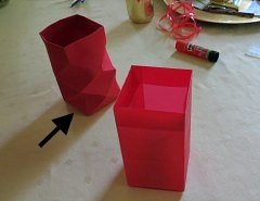 Making Square or Box Shaped Paper Lanterns Step 12
