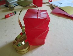 Making Square or Box Shaped Paper Lanterns Step 15
