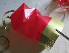 Making Square or Box Shaped Paper Lanterns Step 18