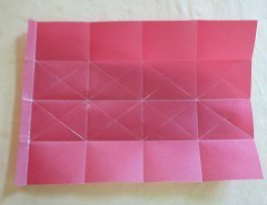 Making Square or Box Shaped Paper Lanterns Step 5